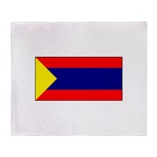 Pasto, Colombia Flag Throw Blanket
