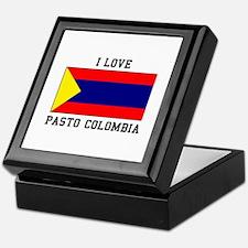 I Love Pasto Colombia Keepsake Box