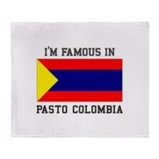 Famous In Pasto Colombia Throw Blanket