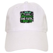Kidney Cancer Survivor FamilyFriendsFaith (Gre Baseball Cap