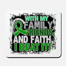 Kidney Cancer Survivor FamilyFriendsFait Mousepad