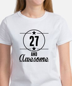 27 And Awesome T-Shirt