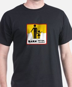 Hold Your Children's Hand, subway Stockholm T-Shirt
