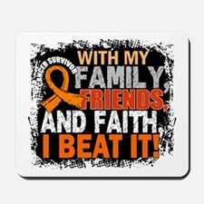 Kidney Cancer Survivor FamilyFriendsFait Mousepad