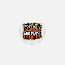Kidney Cancer Survivor Famil Mini Button (10 pack)