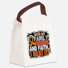 Kidney Cancer Survivor FamilyFrie Canvas Lunch Bag