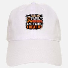 Leukemia Survivor FamilyFriendsFaith Baseball Baseball Cap