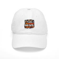 Leukemia Survivor FamilyFriendsFaith Baseball Cap