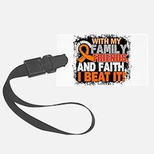 Leukemia Survivor FamilyFriendsF Luggage Tag