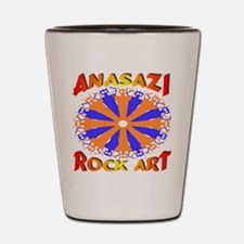 Anasazi Rock Art Shot Glass