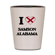 I love Samson Alabama Shot Glass