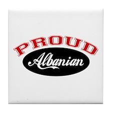 Proud Albanian Tile Coaster