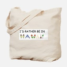 """""""I'd Rather Be in Hawaii"""" Tote Bag"""