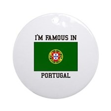 President of Portugal Ornament (Round)