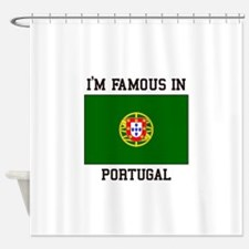 President of Portugal Shower Curtain