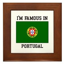 President of Portugal Framed Tile