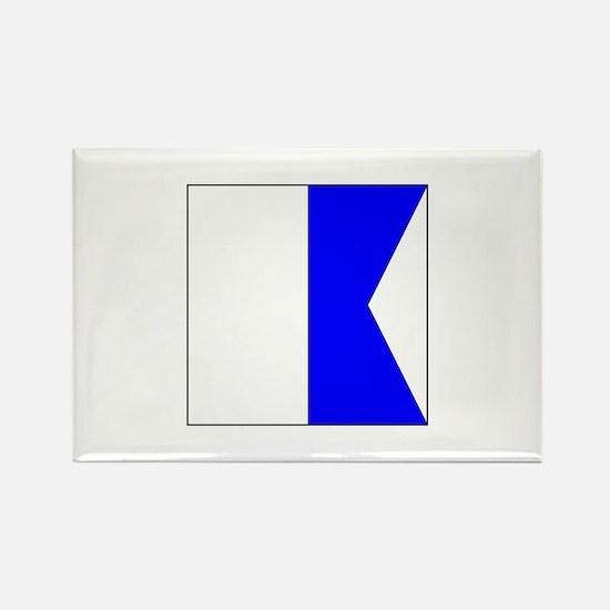 "ICS Flag Letter ""A"" Magnets"