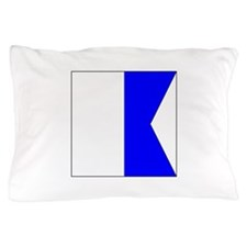"ICS Flag Letter ""A"" Pillow Case"
