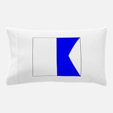 """ICS Flag Letter """"A"""" Pillow Case"""