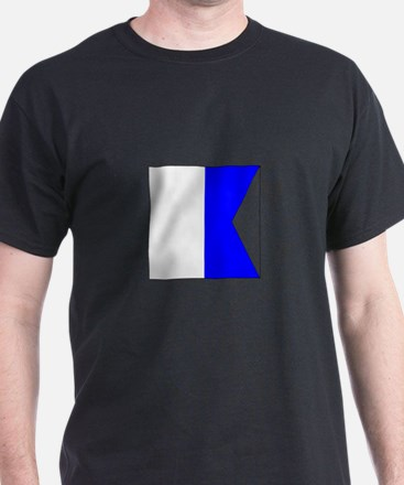 "ICS Flag Letter ""A"" T-Shirt"