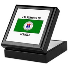 I'm Famous in Manila Keepsake Box