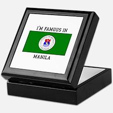 I'm Famous in Manila Keepsake Box
