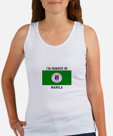 I'm Famous in Manila Tank Top