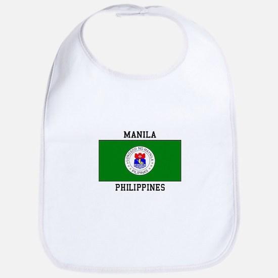 Manila, Philippines Bib