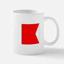 """ICS Flag Letter """"B"""" Mugs"""