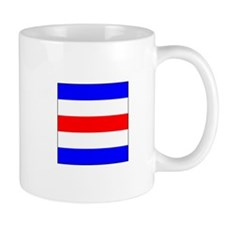 "ICS Flag Letter ""C"" Mugs"