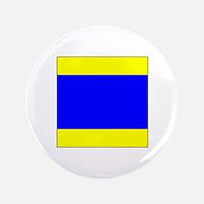 """ICS Flag Letter """"D"""" 3.5"""" Button (100 pac"""