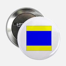 """ICS Flag Letter """"D"""" 2.25"""" Button (10 pac"""