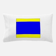 """ICS Flag Letter """"D"""" Pillow Case"""