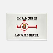 Famous In Sao Paulo Brazil Magnets