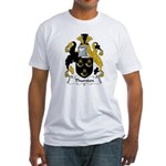Thurston Family Crest Fitted T-Shirt