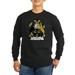Thurston Family Crest Long Sleeve Dark T-Shirt