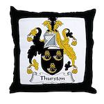 Thurston Family Crest Throw Pillow