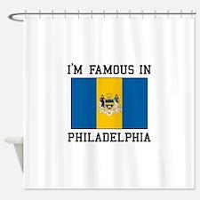 I Love Philadelphia Shower Curtain