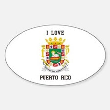 I love Puerto Rico Decal