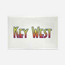 Key west Rectangle Magnet (100 pack)