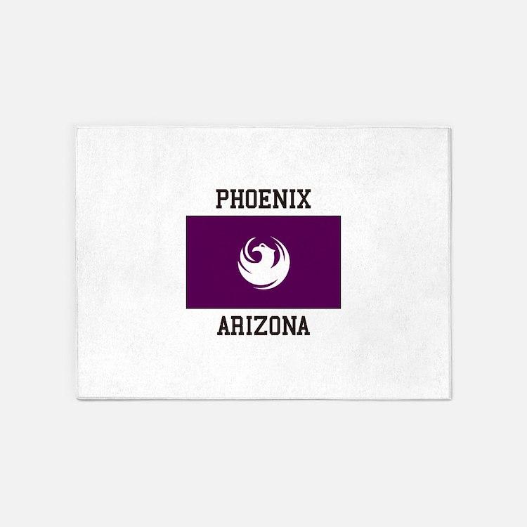 Phoenix Arizona 5'x7'Area Rug