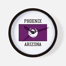 Phoenix Arizona Wall Clock