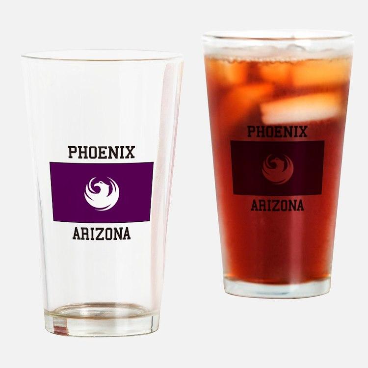 Phoenix Arizona Drinking Glass