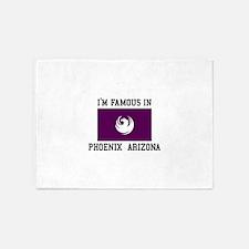 Famous In Phoenix Arizona 5'x7'Area Rug