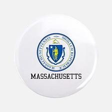 Massachusetts Seal Button