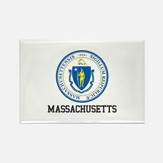 Massachusetts Seal Magnets