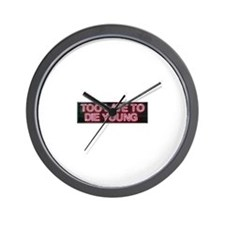 Zine Wall Clock