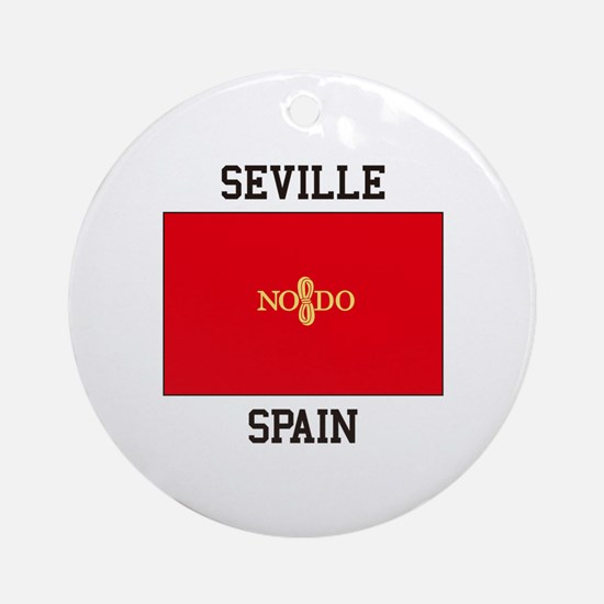 Seville Spain Ornament (Round)