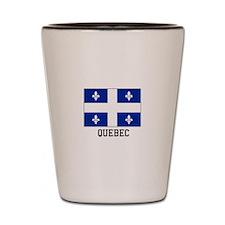 Quebec Shot Glass
