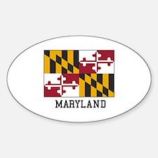 Maryland Flag Decal
